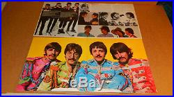 11 The Beatles Lp Vinyl Lot Vg+ / Ex++ Help Rubber Soul Revolver White Submarine