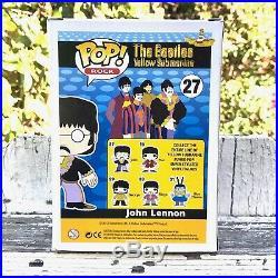 12 John Lennon Funko Pop Rock Vaulted #27 The Beatles Yellow Submarine