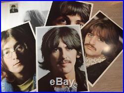 14 LP BOX SET 1C 198-53 163-176 The Beatles Collection POSTER PHOTO GERMAN VINYL
