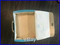 1964 The Beatles Lunch Box Vinyl NEMS AIR FLITE Light Blue