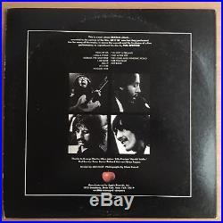 1970 EMI APPLE THE BEATLES LET IT BE US 12 LP VINYL RED APPLE LOGO Near Mint