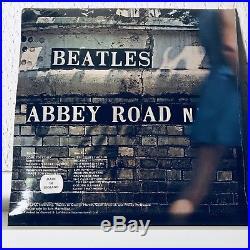 1978 THE BEATLES Abbey Road LP GREEN Vinyl UK Pressing Apple PCS 7088 SEALED