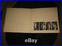 1978 THE BEATLES White Album Rare UK Export White Vinyl LP- Apple/EMI Records