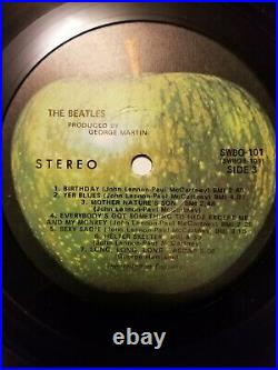 1st US Press 1968 The Beatles White Album, Numbered Low! With Pictures & Poster