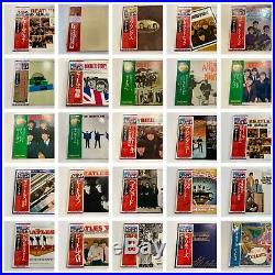 32 LP Lot The Beatles Wholesale Japan All With OBI Vinyl Hey Jude Help! Revolver