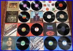 70 X LP Record Collection Classic Rock Prog Job Lot Vinyl Pink Floyd The Beatles