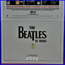 AUDIOPHILE BEATLES MONO #14 LP x 180g + 108 Pages HARDBOOK RARE Box Set Ed. NEW