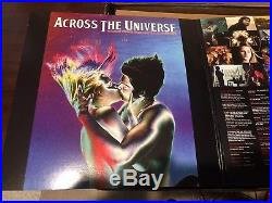 Across The Universe Soundtrack Red Blue Numbered Vinyl LP Record Beatles