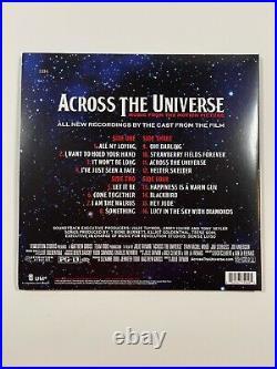 Across the Universe RSD 2007 Rare Color Vinyl Soundtrack Beatles Cover Songs
