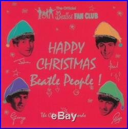 BEATLES Happy Christmas Beatles People The Christmas Records 77 VINYL new