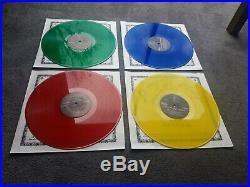 BEATLES Pop go the Beatles vol 1 coloured vinyl 4LP box NM/EX+ #211/500