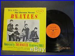 BEATLES Rare The Savage Young Beatles Savage BM 69 D/G orange 1964 Vinyl Lp Ex