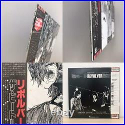 BEATLES Revolver JAPAN RED-VINYL MONO 1982 Limited Press with OBI & INSERT rare