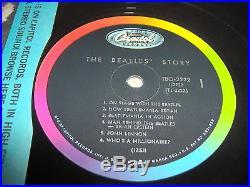BEATLES-THE STORY TBO 2222 CAPITOL MONO 1964 vinyl (2 DISCS) LP