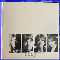 BEATLES White Album RARE White Vinyl 2LP 1978 with Poster & Photos SEBX-11841
