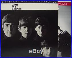 BEATLES With The Beatles MFSL 1-102 INSANELY RARE Original Audiophile VINYL LP