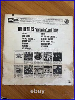 BEATLES YESTERDAY AND TODAY ST2553 STEREO 3rd STATE BUTCHER COVER 1966