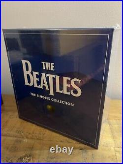 BRAND NEW + SEALED The BEATLES The Single Collection 7 Vinyl Box Set BARGAIN