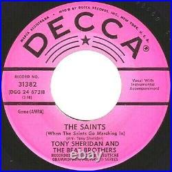 Beatles 45 PROMO MY BONNIE ORIGINAL DECCA (NM-) 1962