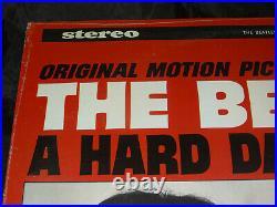 Beatles A Hard Day's Night Sealed Vinyl Record Album LP USA 1968 Hype Sticker