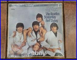 Beatles Butcher Album paste over reproduction Fooled me, album is original
