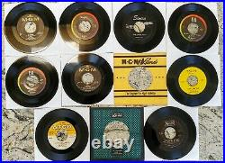 Beatles Collection Lot Sleeves Singles 45s Swan Capitol MGM Tollie VJ Vee Jay UA