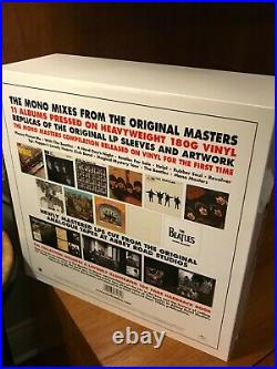 Beatles In Mono Vinyl 14 LP Box Set 2014 NEWithNEVER PLAYED