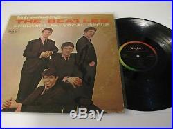 Beatles LP INTRODUCING THE BEATLES Version 1 MONO NM Vinyl Authentic! WOW