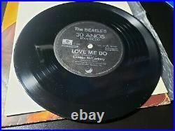 Beatles Love Me Do Brazil PROMO 7 Vinyl Single withINSERT 1000only 1992- butcher