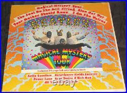 Beatles Magical Mystery Sealed Vinyl Record Lp USA 1967 Orig Mono Dome Logo LOA