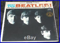 Beatles Meet The Beatles Sealed Vinyl Record Lp 1971 USA Apple Riaa 12