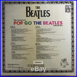 Beatles, Pop Goes The Beatles Vol. 1 Box Set, 180g Colored Vinyl 4 Lp's, Numbered