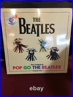 Beatles Pop Goes The Beatles Volume 2 4 Lp 180 Gram Transparent Vinyl New