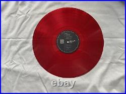 Beatles Revolver LP Red Vinyl Japan Odeon Records EAS-70136 Mono EX/EX OBI