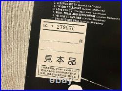 Beatles Revolver LP Red Vinyl Japan Odeon Records EAS-70136 Mono Promo EX/EX OBI