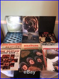 Beatles, Rolling Stones, AC/DC, The Who, Pink Floyd, Michael Jackson, VINYL LOT