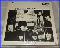 Beatles Rubber Soul Sealed Vinyl Records LP USA 1965 Matching Stereo & Mono Orig