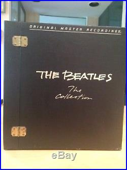 Beatles The Collection Box Set Contains 14 Remastered, Audiophile, Virgin Vinyl