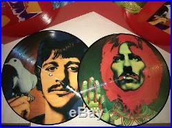 Beatles, The Number 1's, 180 Gram Picture Disc Vinyl, 2 Lp's, Gatefold