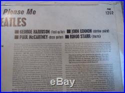 Beatles The Please Please Me 1st Mono Black & Gold Dick James Vinyl LP Album