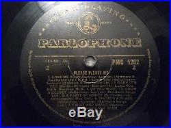 Beatles The Please Please Me Black Gold-Rare Nthn Songs Vinyl LP PMC 1202-VIDEO