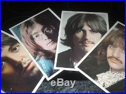 Beatles The White Album Double Vinyl Record LP Album PCS 7067-8 1968