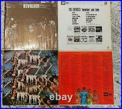 Beatles US Capitol Apple Album LP Record Collection Lot Vinyl in EX! 12 Albums