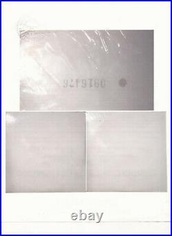 Beatles White Album Sealed Vinyl Records LP USA 1968-69 Numbered Embossed Framed