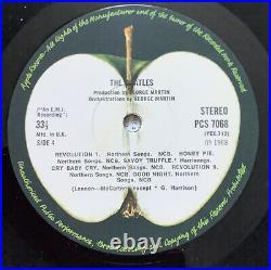 Beatles White Album Vinyl Double Lp Numbered Complete Near Mint Unplayed