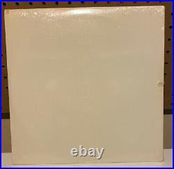 Beatles White Album sealed 1978 white vinyl 2 LP set McCartney Lennon