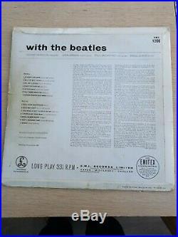 Beatles With The Beatles Parlophone 1st Uk Vinyl LP
