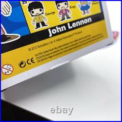 Beatles Yellow Submarine Funko Pop Set Of 5 John Paul George Ringo Blue Meanie