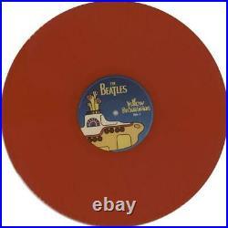 Beatles Yellow Submarine Songtrack Red Vinyl vinyl LP album record UK