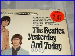 Beatles Yesterday And Today Sealed Vinyl Record LP USA 1966 Orig RIAA 4